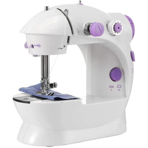 Machine à coudre Blanc/Violet (Refurbished A+)