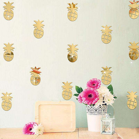 Lot de 12 stickers ananas, , ShopVip