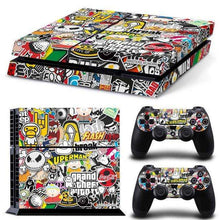 Skin PS4 version Graffiti, ShopVip, 3