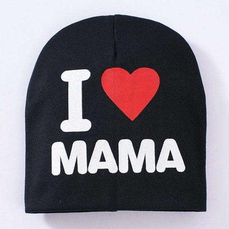 Bonnet enfant, ShopVip, Love MAMA NOIR