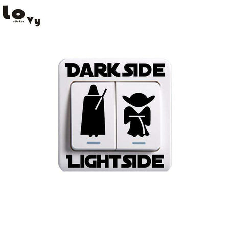Sticker DarkSide LightSide, sticker, ShopVip
