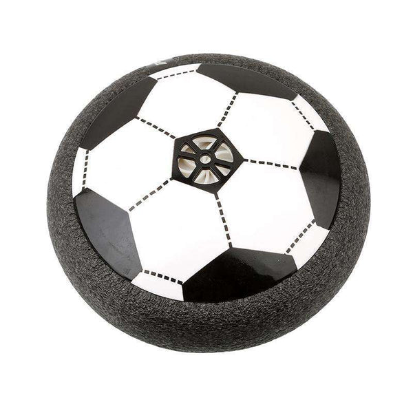 Ballon de football aeroglisseur, ShopVip, Noir