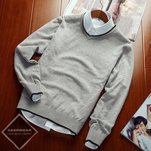 Casual Knitted Pullover - 4 Colors