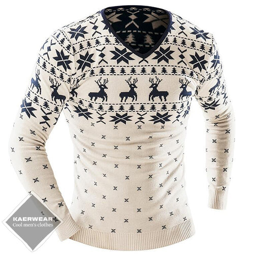 Christmas Knitted Sweater - 2 Colors