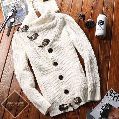 Knitted Cardigan - 2 Colors