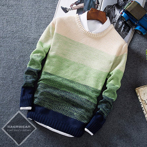 Knitted Pullover - 3 Colors