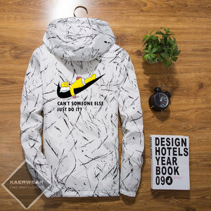 """Homer"" Hooded Jacket - 5 Colors"