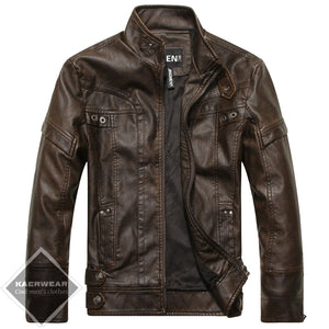 Classic Leather Jacket - 3 Colors