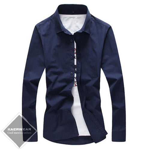 Fashion Long Sleeve Shirt - 9 Colors