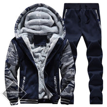 Winter Men's Suit Hoodie And Pants - 3 Colors