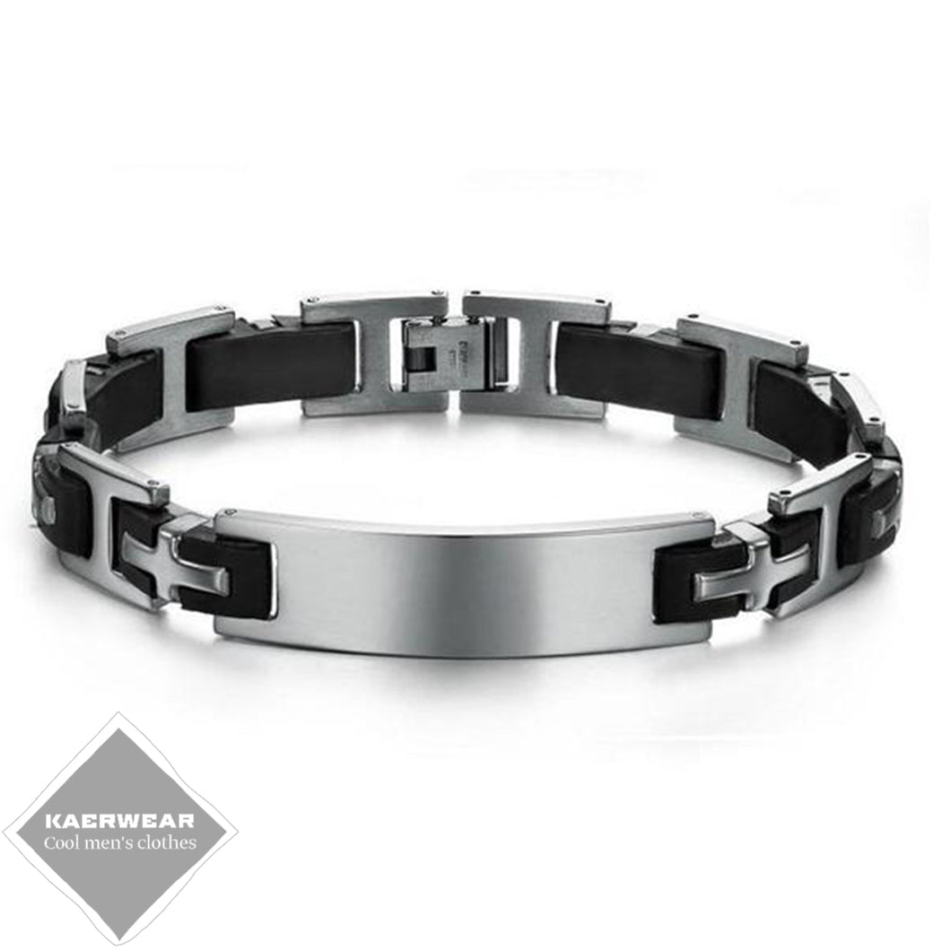 Stainless Steel Men's Punk Bracelet