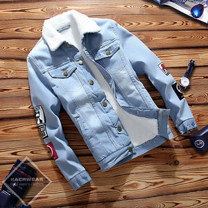 Denim Warm Jacket