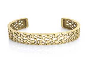 Bangle Soft Gold - Fillegree 15mm