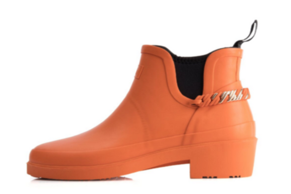 theRubzBoots - Orange & Rose Gold