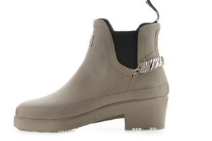 theRubzBoots - Taupe & Platin Silver