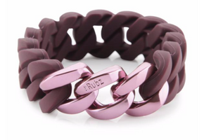 Classic20mm - Burgundy & Pink Metal