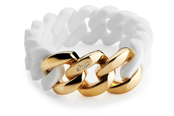 Classic20mm - White & Soft Gold