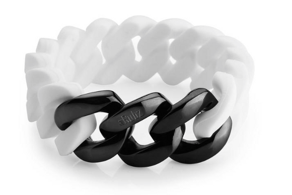 Classic20mm - White & Black Metal