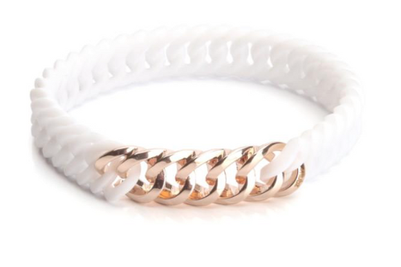 CircleNano White & Rose Gold 10mm