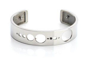 Bangle Stainless Steel - SolarDots 15mm