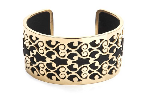 Bangle Gold 14K - Filigree 35mm