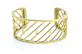 Bangle Gold 14K - Pixel 35mm