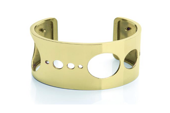 Bangle Gold 14K - SolarDots 35 mm