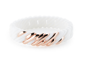 PixelMini 15mm White Rose Gold
