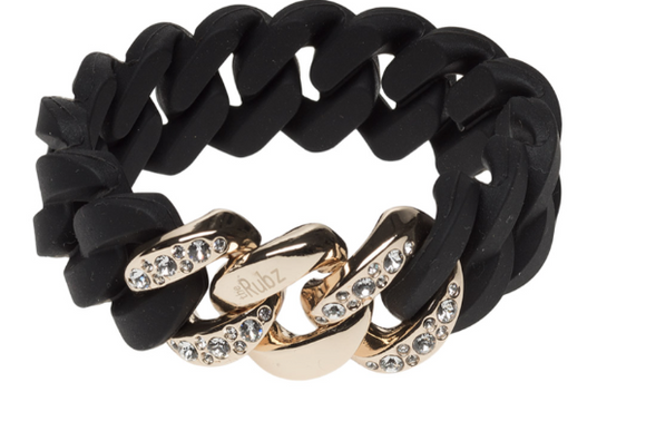 Crystal Classic 20mm Black Soft Gold