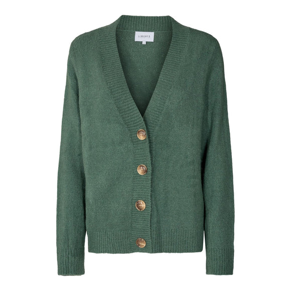Bibi cardigan dark green
