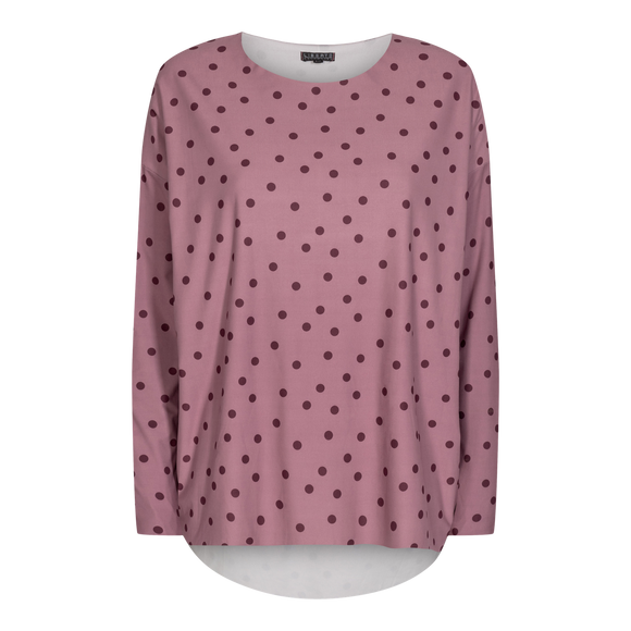 Alma langermabolur dark rose dot