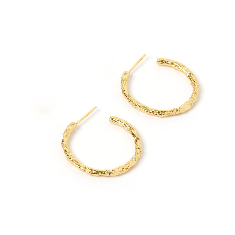 Alessandra Gold Hoops