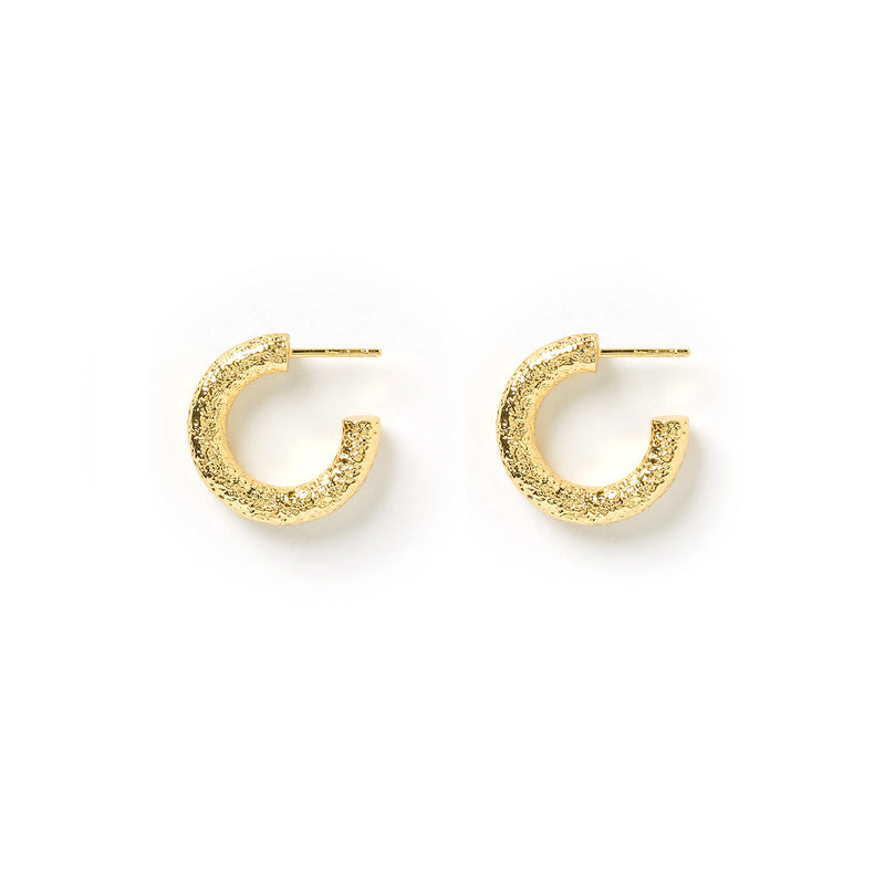 Allegra Gold Hoop Earrings