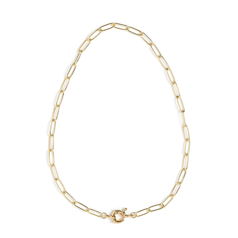 Boca Gold Stacking Chain Necklace