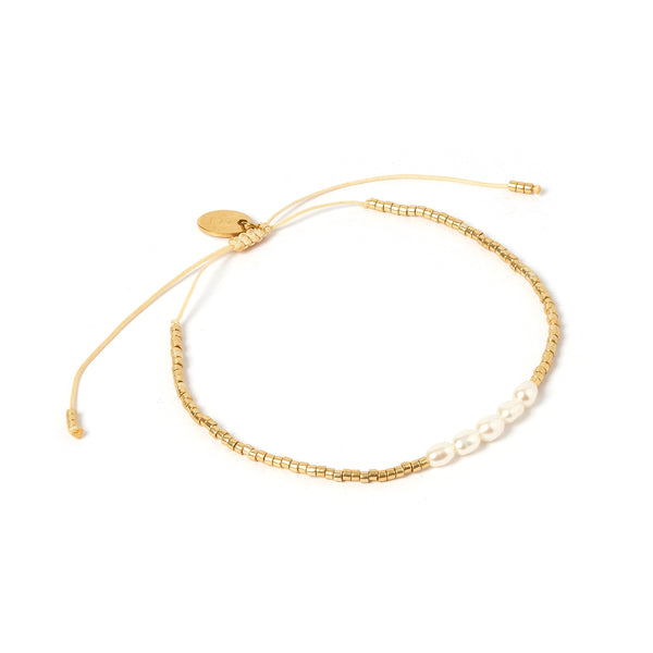 Celine Gold and Pearl Bracelet
