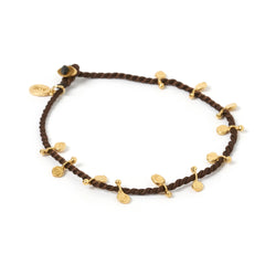 Jai Gold Bracelet - Brown