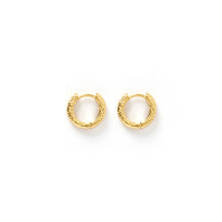 Luka Gold Huggie Earrings