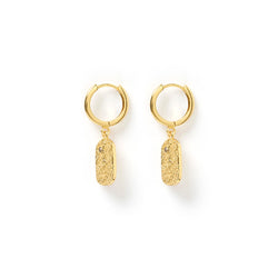 Mendoza Gold Huggie Earrings