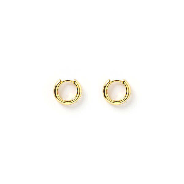 Shia Gold Huggie Earrings