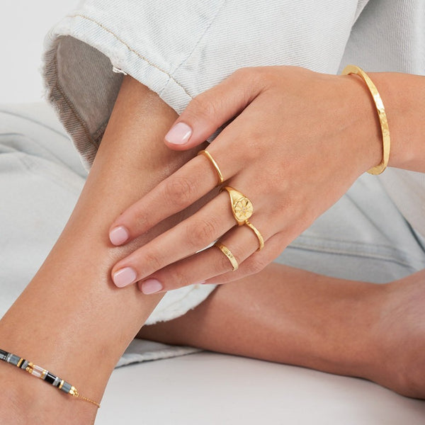 Havana Gold Stacking Ring