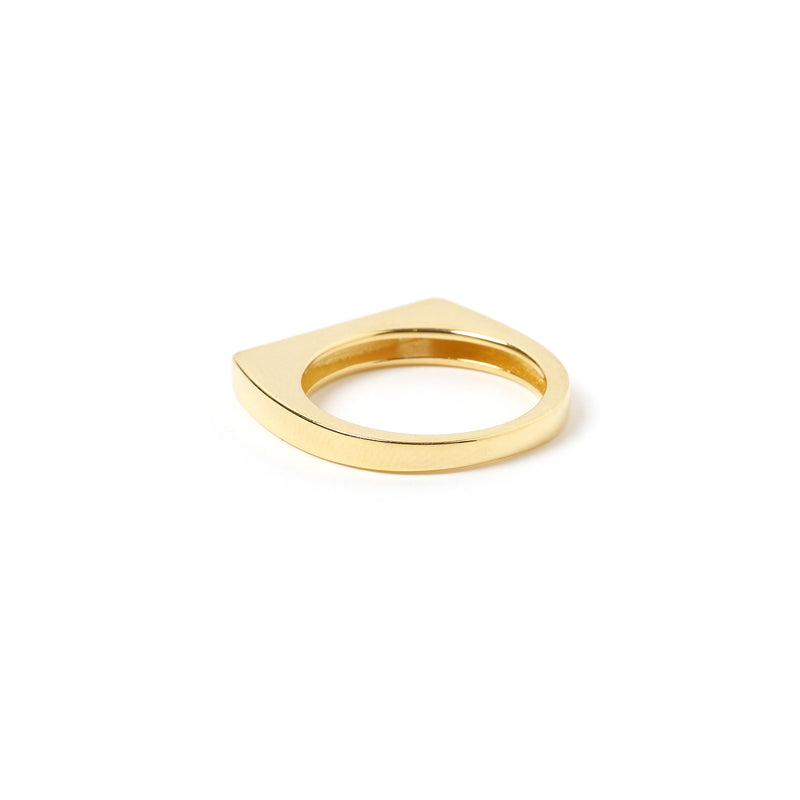 Anillo Gold and Enamel Ring - Navy