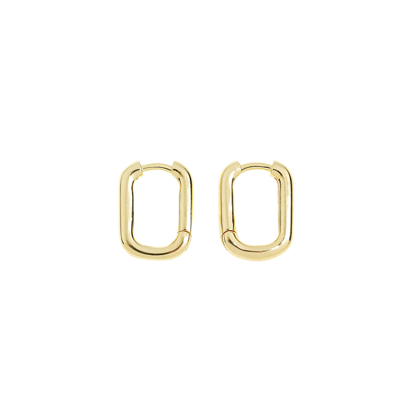 Link-Up Gold Hoop Huggies - Small