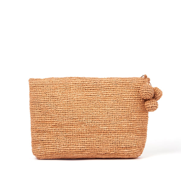 Tiana Woven Large Bag - Natural