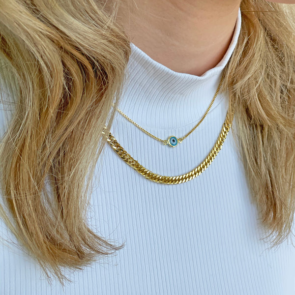 Maggie Gold Necklace