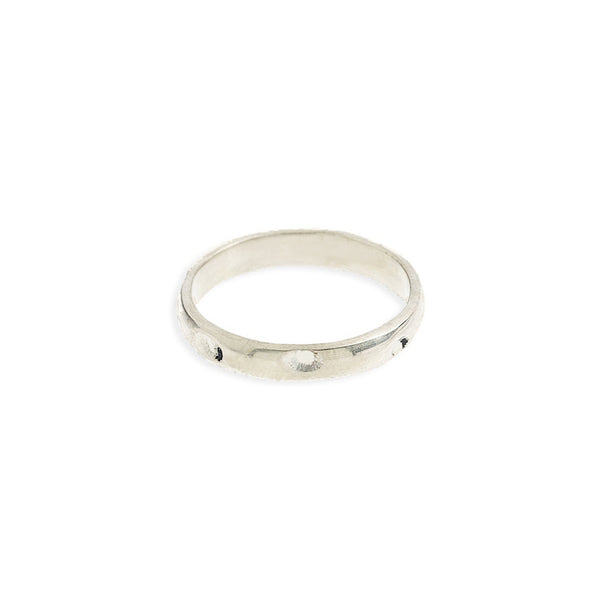 Gizelle Silver Ring