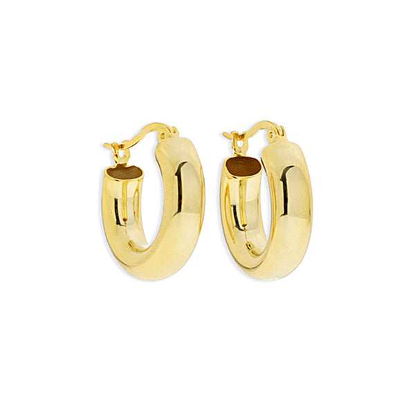 Bella Gold Hoops