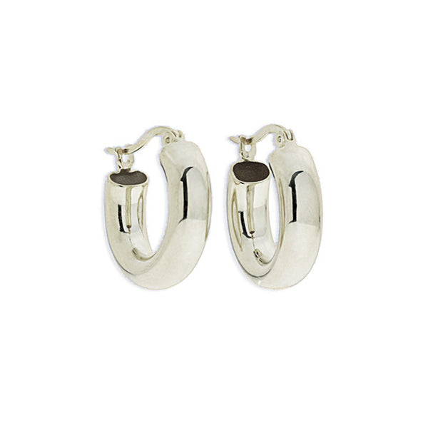 Bella Silver Hoops