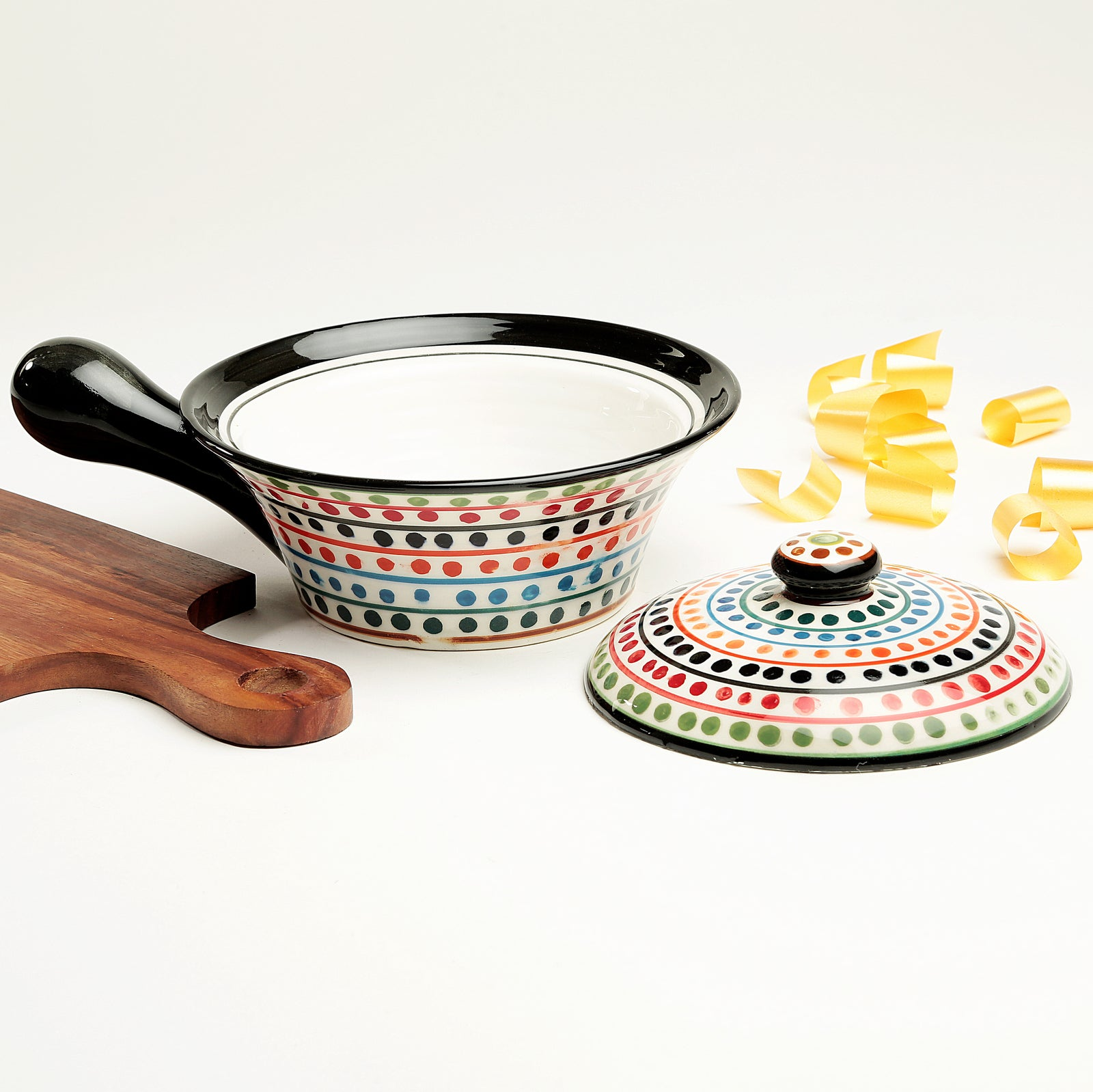 Serve N Style Multicolour Clara Serving Bowl