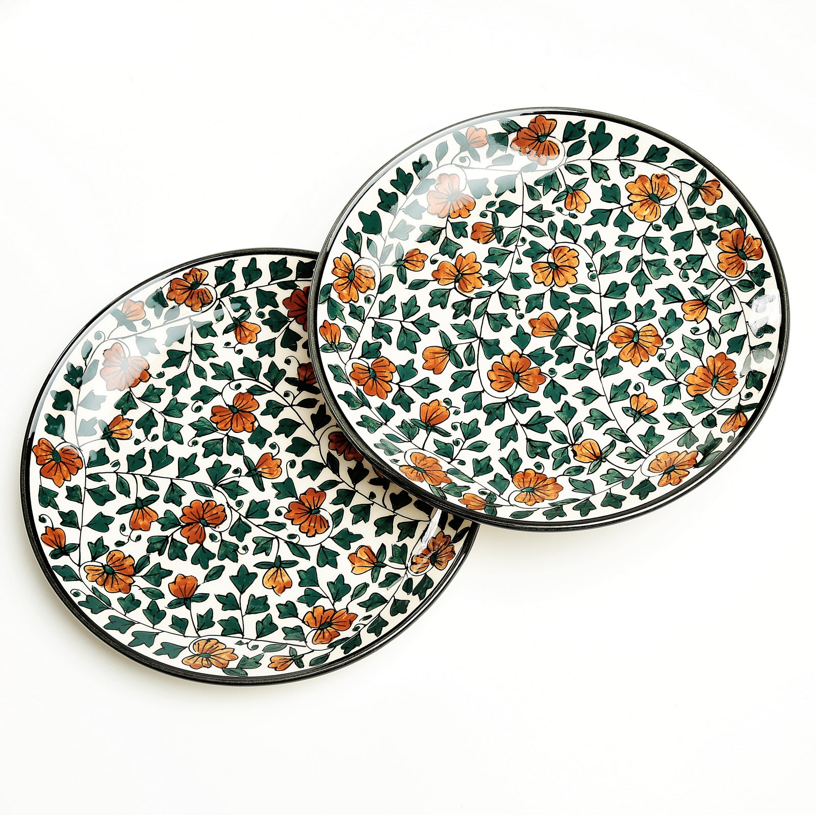 Nayeli Handpainted Dinner Plates - Set of 2