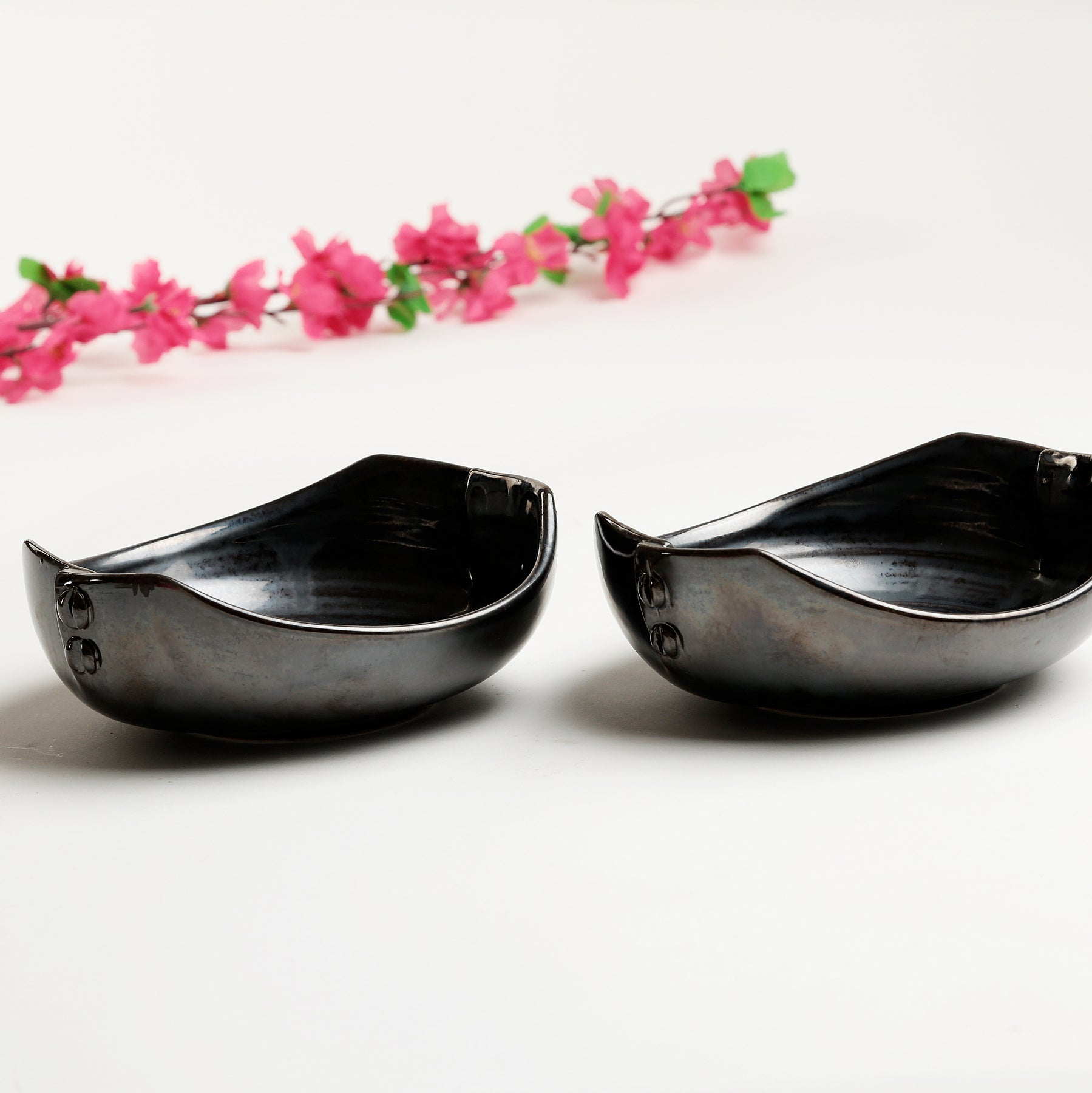Metallic Ciac Bowls - Set of 2